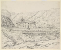 Jung Buhadour's House at Godowry. March 1863